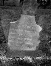 Mary Elizabeth Underwood Johnson - Grave Marker