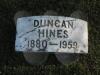 Duncan Hines - Grave Marker