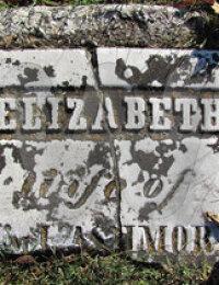 """Elizabeth """"Betsy"""" Forsythe - Grave Marker"""