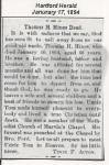 Thomas Henry Hines - Obituary