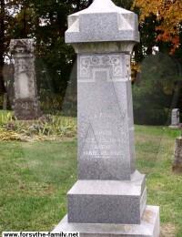 Martha Anderson Forsythe - Grave Marker
