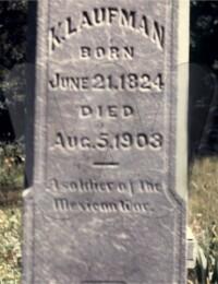 Keefer Laufman - Grave Marker