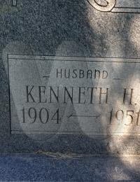 Kenneth H. Ward - Grave Marker