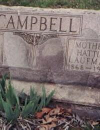 Nelson & Hattie - Grave Marker