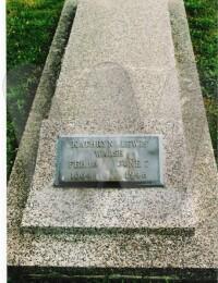 Sarah Kathryn Lewis Walsh - Grave Marker