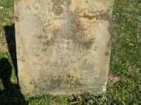 John & Martha (Parks) Gibson - Grave Marker