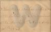 Hand-written note - John Hines