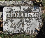 Elizabeth Forsythe - Grave Marker