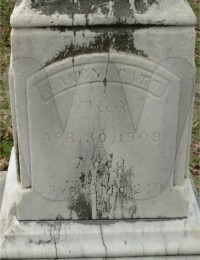 Nancy Decker Catt - Grave Marker