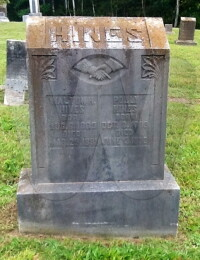 Walton & Polly Hines - Grave Marker