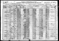 1920 Census - Clyde Hines