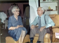 Ethel (1902-1999) & her husband Elmer Miles (1886-1963) - daughter of Jennie Cline Cossell