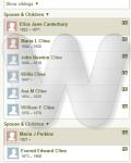 William & Eliza Cline Family