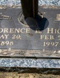 Florence Elsie Rountree-Hicks - grave marker