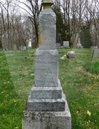 Ella Forsythe English - grave marker