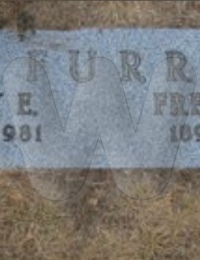Freeman & Mary Furr - grave marker