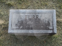 Reed & Estella Furr - grave marker