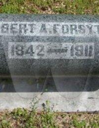 Robert Ashmore Forsythe - grave marker