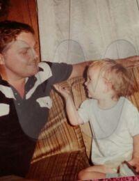 Johnny Crawford with his niece Krystal.