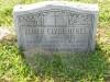 Elmer 'Clyde' Hines - grave marker
