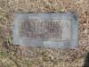 Iva Lee Benson Hines - grave marker