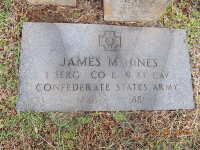 James Madison Hines - grave marker