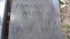 Edward Warren Hines - grave marker
