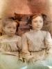 Orean (L) & Carrie (R) Hines - abt 1908