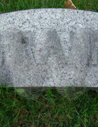 Frank Ricksher - grave marker