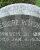 Theodore Ricksher - grave marker