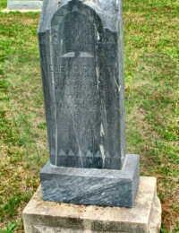 Elizabeth Forsythe Dickson - grave marker