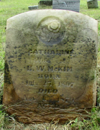 Catherine Hines - grave marker