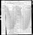 US Census - 1880 - Thomas H. & Sarah A. Hines
