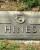 William M. Hines - grave marker