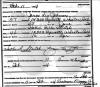 Leo & Hattie Johnson - mariage certificate