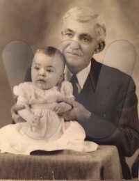 Norman Forsythe and possibly a grandchild