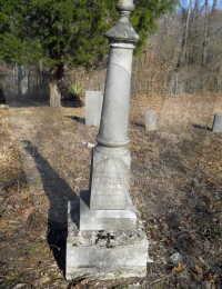 Michael Cader Embry - grave marker