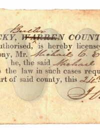 Michael Cader Embry - License