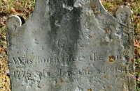 Cader Embry - grave marker