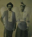 "Harden & Ethel ""Jennie"" Cossell - Marriage Photo"