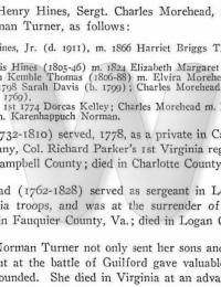 Henry Hines Bio during Rev War