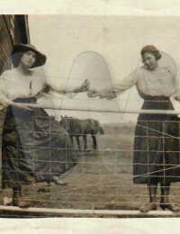 Rose Murack (left)
