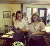 Josie Lloyd (left)