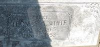 Thomas A. White - grave marker