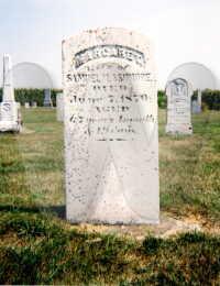 Margaret Lovelace Ashmore - grave marker