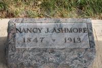 Nancy J. Ashmore - grave marker