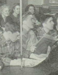 Terry Furr - Junior in High School (Front Row - 3rd from left)