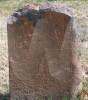 Mary Anna Shultz Rinker - grave marker
