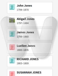 Jones - family 1