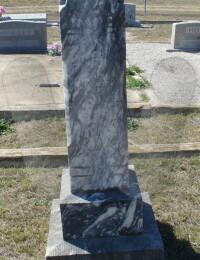 Malinda Forsythe Groves - grave marker